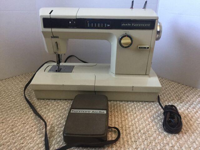 Vintage Sears Best Kenmore Sewing Machine Model 4040 Arm EBay Interesting Sears Kenmore Sewing Machine 158