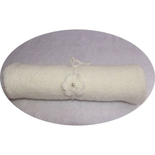 FM/_ LN/_ UK/_ Baby Photography Photo Props Elastic Swaddle Wrap Blanket Solid Colo