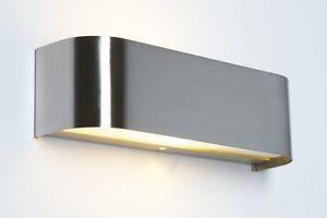 Applique da ingresso acciaio inox lampada da parete design moderno