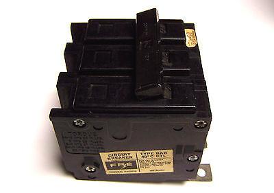 40A * FPE BAB Type Circuit Breaker . 3P Cat# BAB3040.. YA-503