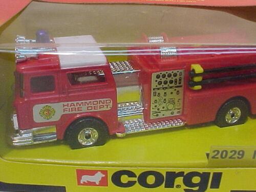 Details about  /MADE IN GREAT BRITAIN CORGI #2029 MACK FIRE PUMPER MIB