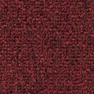 Teppichboden Meterware Schlinge Gemustert 4m 5m Breit Rot 8