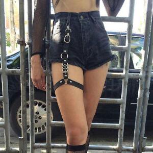 Punk-Elastic-Leather-Strap-Body-Necklace-Punk-Rock-Thigh-Garter-Belt-Leg-Harness