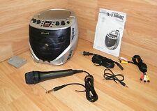 Genuine Emerson (GQ265) Portable CD+G Karaoke Player Bundle w/ Built in Speaker