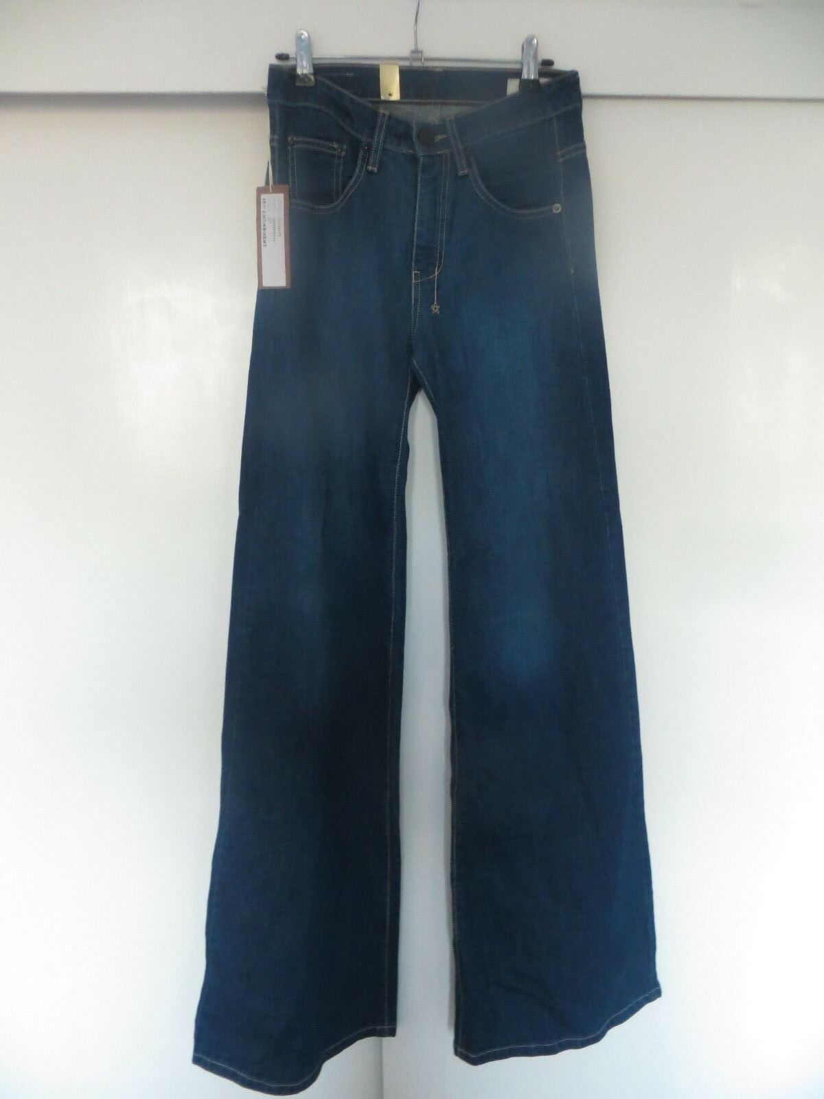 BNWT 18th Amendment Colbert 1970s Flare Extra Long  Speakeasy  jeans w27 L35