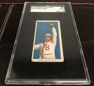 1909-1911 T206 Tobacco Charlie Starr Piedmont 350 SGC GOOD Boston Vintage Card