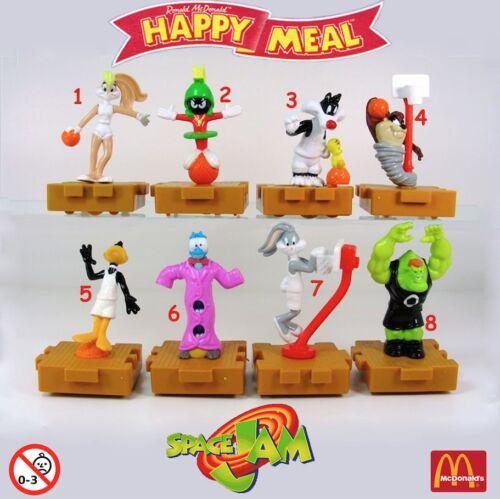 1996 Looney Tunes Space Jam Pezzi singoli McDonald/'s MC DONALD/'S HAPPY MEAL