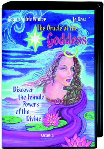 THE ORACLE OF THE GODDESS SET BUCH DECK KARTEN ESOTERIC FORTUNE TELLING AGM NEU