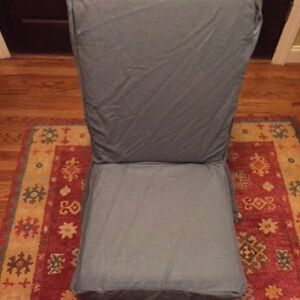 Pb Comfort Dining Side Chair Slipcover Washed Linen