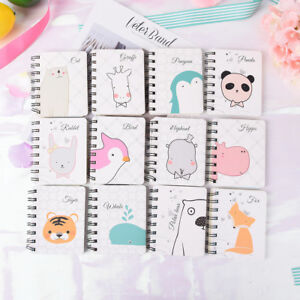 Cute-Panda-PVC-Daily-Weekly-Planner-Spiral-Notebook-Day-Plan-School-Supplies-FG