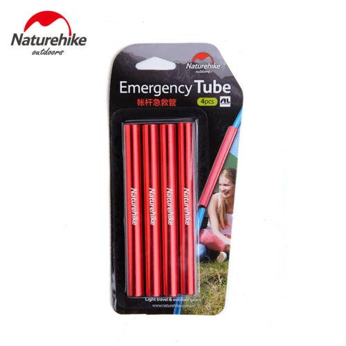 4Pcs//Pack Gear Aid 8.5mm Tent Pole Splint Emergency Repair Split Sleeve Tube