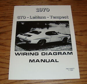 details about 1970 pontiac lemans tempest \u0026 gto wiring diagram manual 70 70 VW Wiring Diagram image is loading 1970 pontiac lemans tempest amp gto wiring diagram