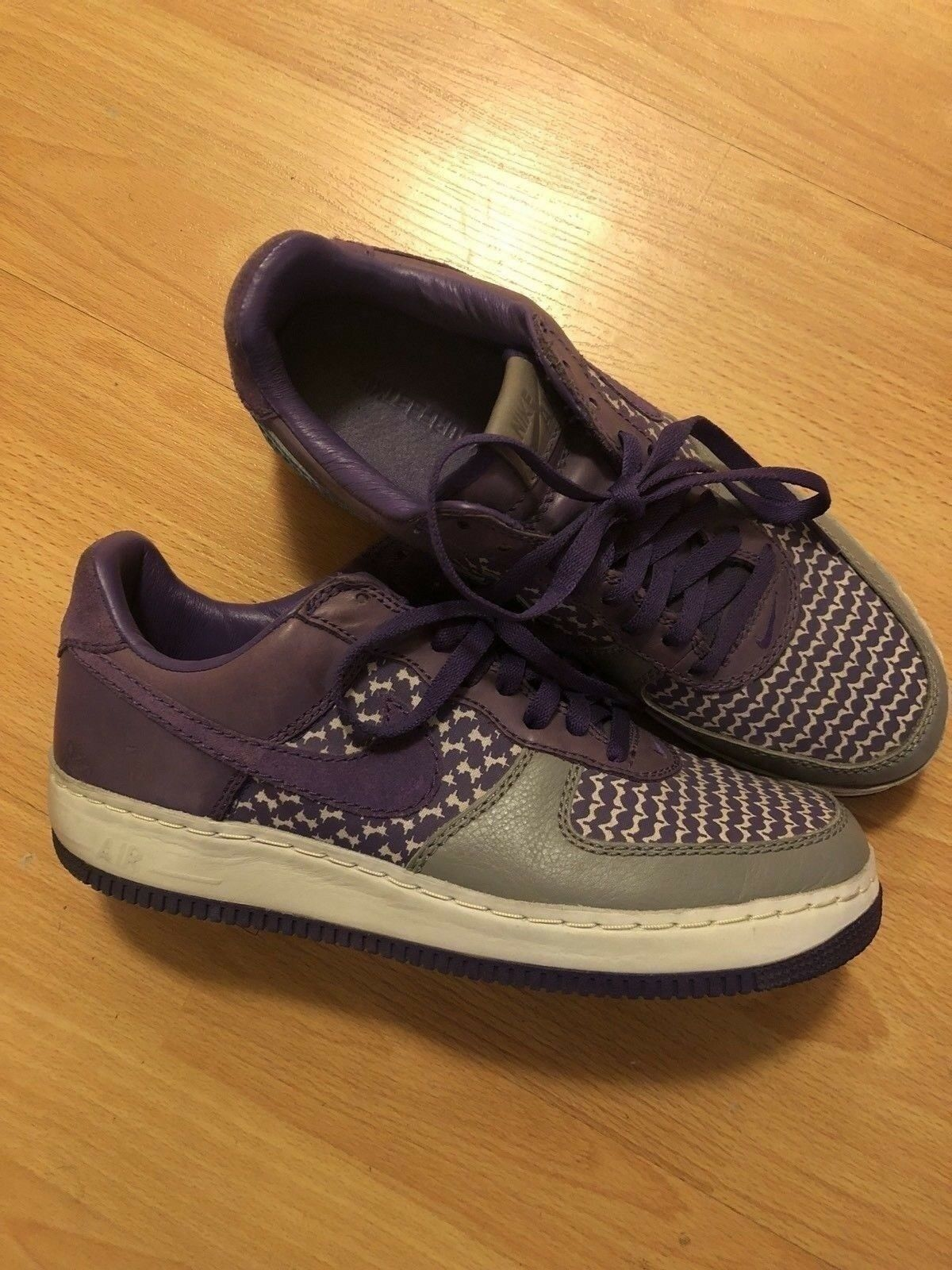 Air Force Premium 1 baja Io Morado Premium Force