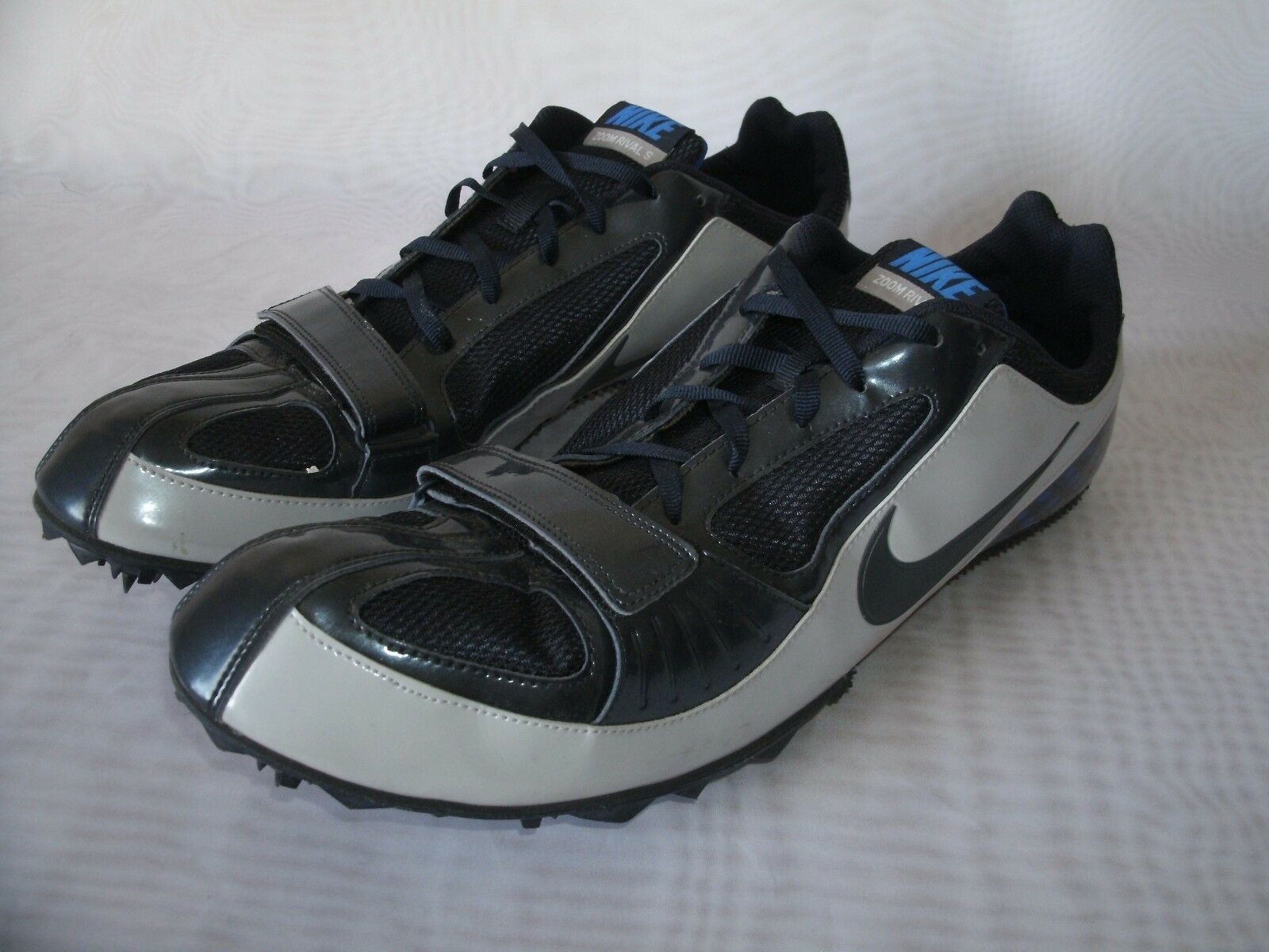 5efe241252a16 NIKE ZOOM RIVAL S S S BOWERMAN SERIES SPIKES CLEATS   SIZE US 15   MEN S  c00fcd