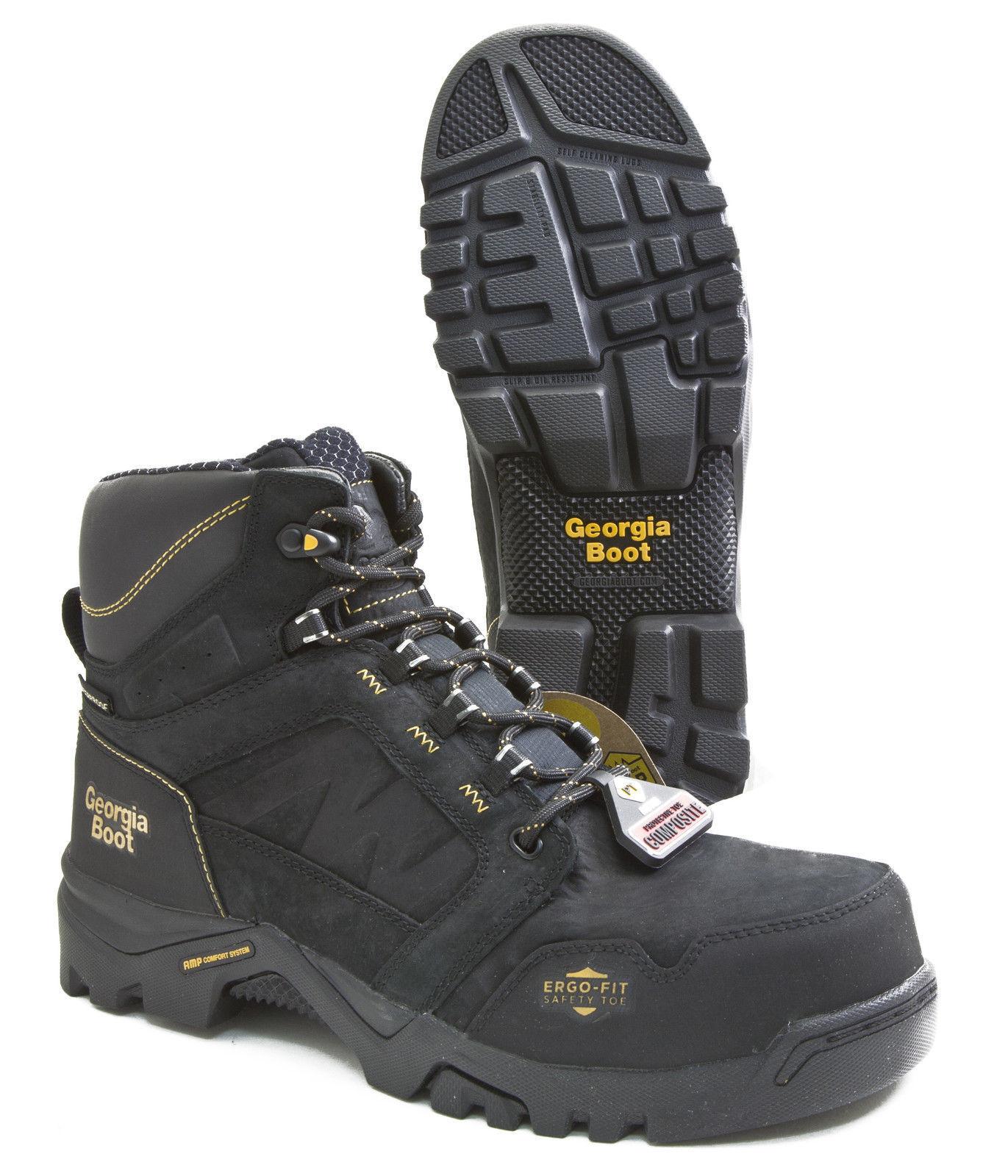 Georgia GB00130 6  Amplitude Composite Toe Waterproof Work Boot