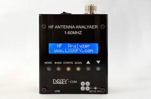 1PC MR300 Digital Shortwave Antenna Analyzer Meter Tester 1-60M For Ham Radio