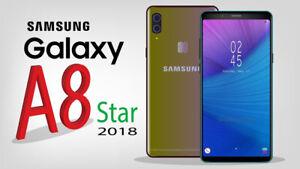Samsung Galaxy a8 Star (2018) ENTSPERRT-SMARTPHONE HANDY makellos