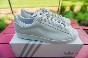 Size New Details Light 1 Brand Of Rare Gray Superstar 14 Custom About Suede Adidas Men's PnkN0OX8w