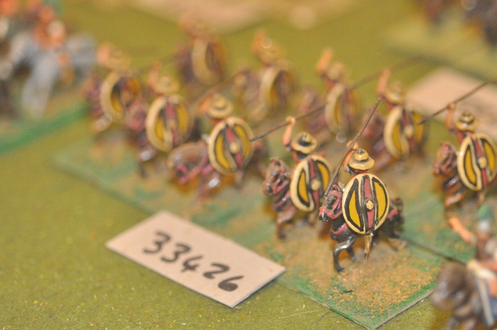 25mm classical   greek - light 10 figures - cav (33426)