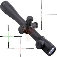 M1 3.5-10x40e Long Range Illuminated Mil-dot Optics Rifle Scope With 20mm Mounts