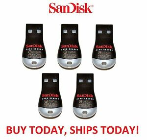 New Original Sandisk SDDR-121-G35 MobileMate MicroSD to USB Card Drive Reader
