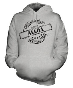 Gift Unisex Mens Ladies Womens In Hoodie Made Alloa Christmas Birthday 50th xP0OEw
