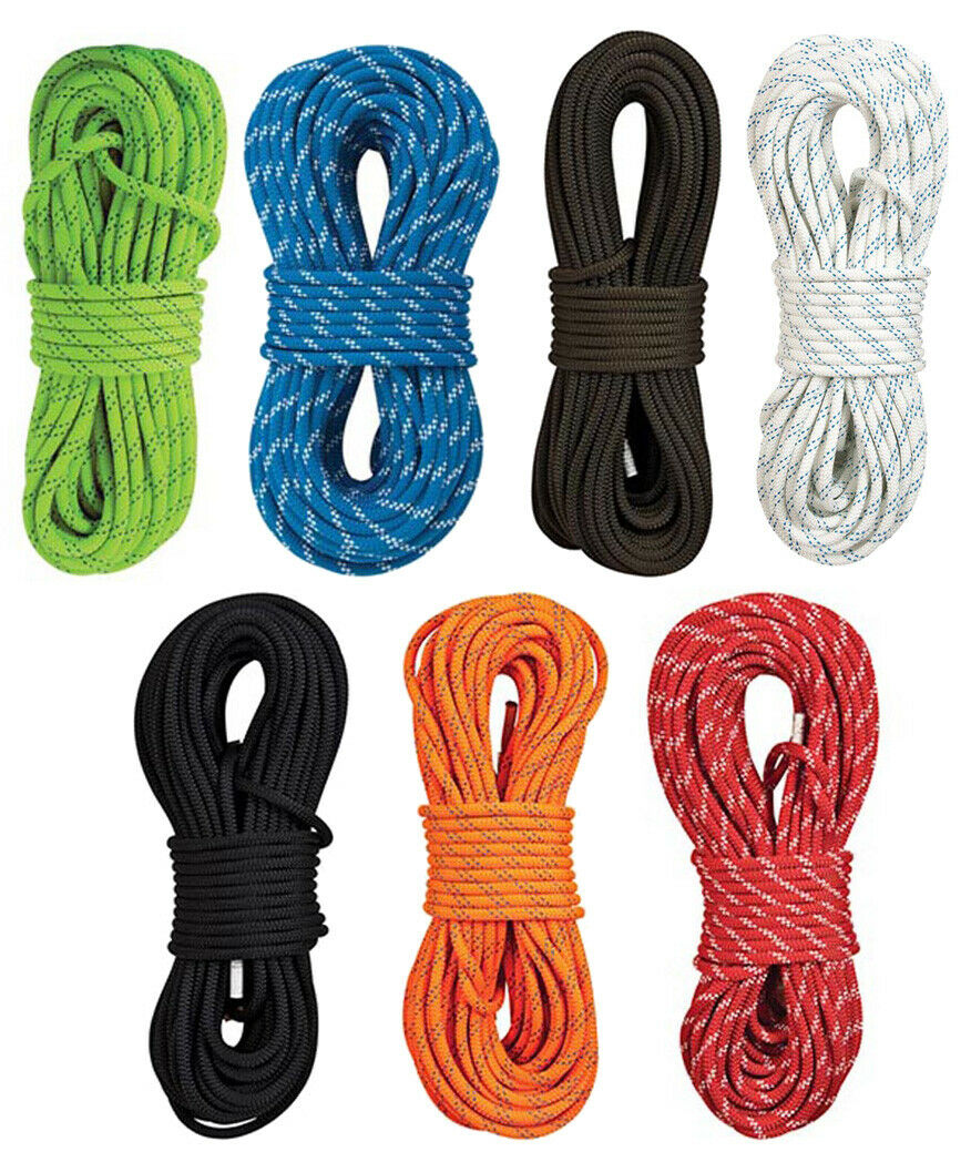TEUFELBERGER KMIII 5 8  Static Climbing Rescue Caving Rappelling Rope Polyester