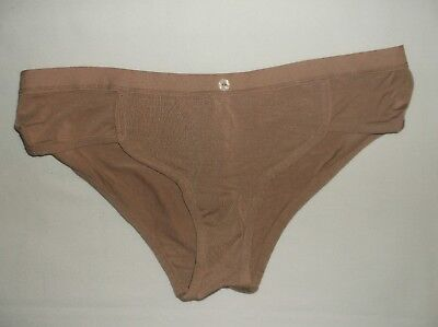 38d2e96d4752 Forever 21 button front modal hipster panties S M ivory or cocoa nwt ...