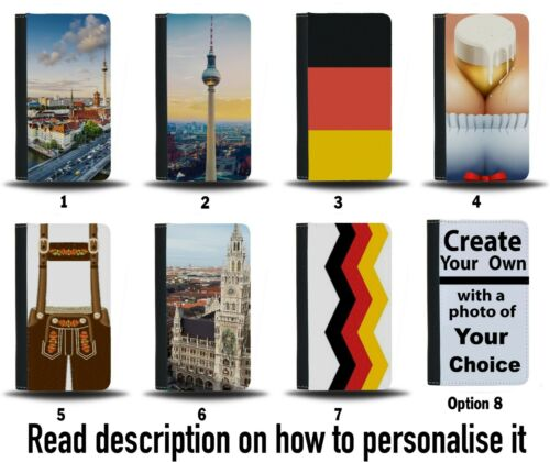 German Passport Holder Case Cover Travel Protective Wallet Bag German Gift PA7