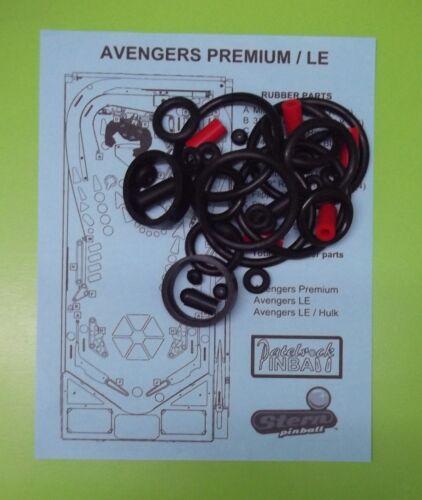 Premium pinball super kit Stern Avengers LE