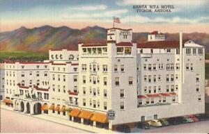 Tucson-ARIZONA-Santa-Rita-Hotel-ARHITECTURE-1946
