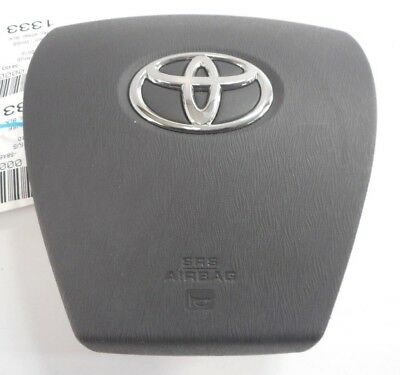 2010-2015 TOYOTA PRIUS WHEEL AIRBAG LEFT DRIVER WHEEL AIRBAG BLACK 10 11 12 13