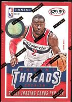 2014-15 Panini Threads Basketball 20 Card Box One Memorabilia Two Wood Rookies