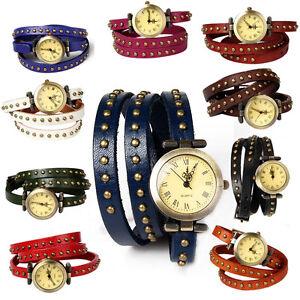 Womens-Fashion-Retro-Wrist-Watch-Ladies-Casual-Genuine-Leather-Birthday-Gift