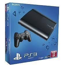 Sony PlayStation 3 12GB Black (PS3 12GB] BRAND NEW PS3 Console with warranty