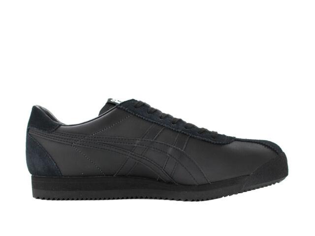 ASICS Tiger Corsair Mens Black/Black Sneakers Trainers Shoes D7J4L.9090 Size