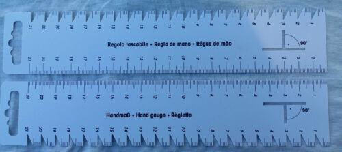 Handmaß taille 23 x 4,5 cm avec pli compteur