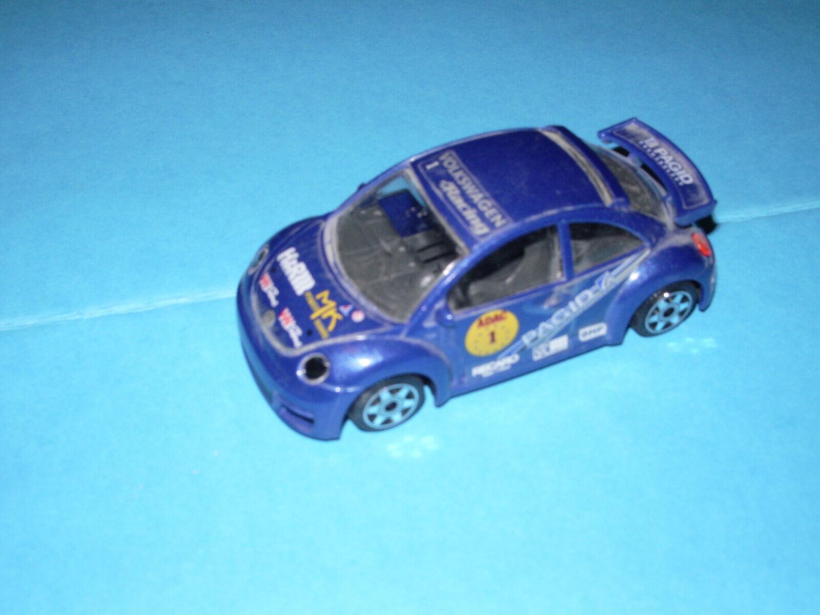 NEW BEETLE 1 43 Sport BBURAGO bleue