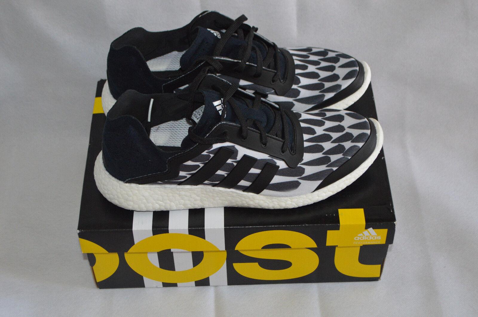 Adidas Men's Pureboost Battle Pack Brazil White/Black Trainers M21891 Size 10.5