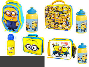 Minion lunchbox with personalised name boy//girl  Ideal gift