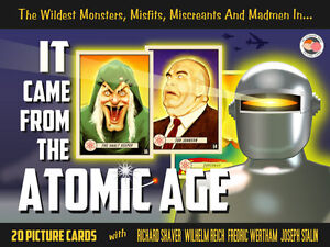 It-Came-from-the-Atomic-Age-Blackhawk-EC-Comics-Superman-Bela-Lugosi-card-pack