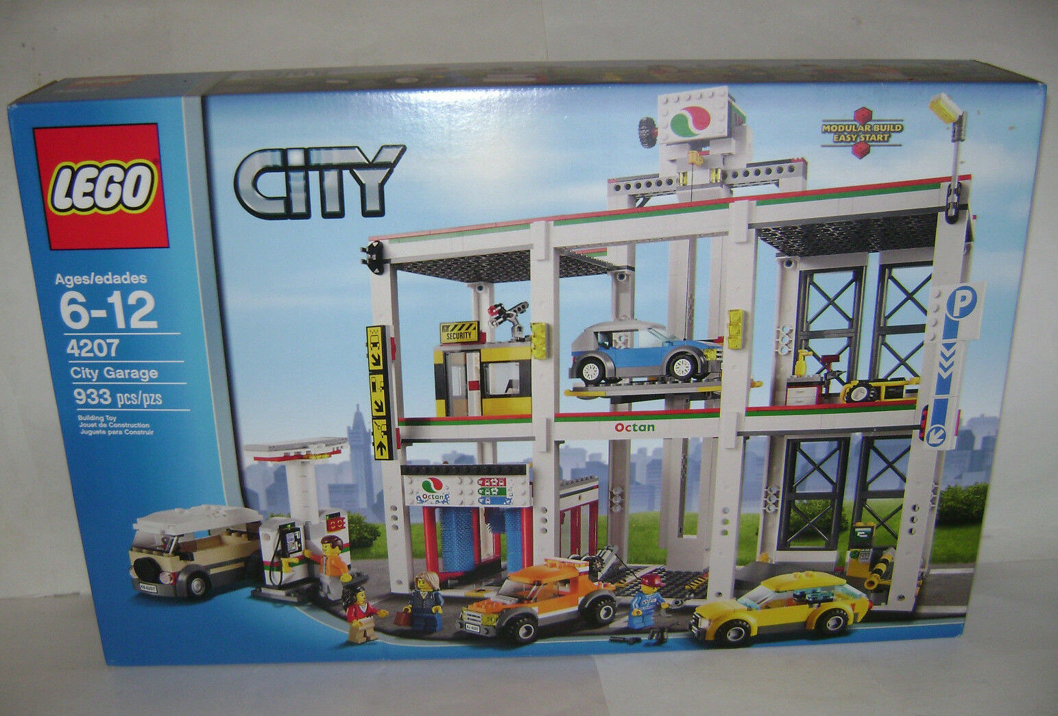 nouveau  4207 Lego CITY City Garage Building Toy SEALED BOX RETIrouge RARE A  prix raisonnable
