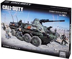 Mega Bloks Call of Duty Combat Vehicle Attack Set #38156