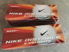 NDX Nike Distance X Velocity 1 Golfbälle 2 x 3 Stück neu/ovp