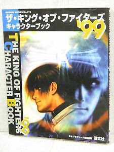 KING-OF-FIGHTERS-99-Character-Book-Guide-Neo-Geo-GB4x