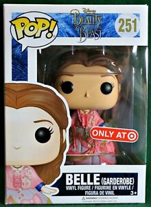 BELLE (GARDEROBE) #251 Disney's Beauty and the Beast Funko Pop EXCLUSIVE TARGET!