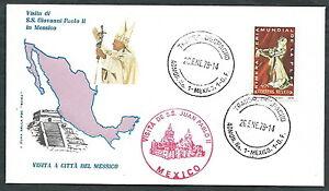 1979 Vaticano Viaggi Del Papa Messico Citta Del Messico - Rm1