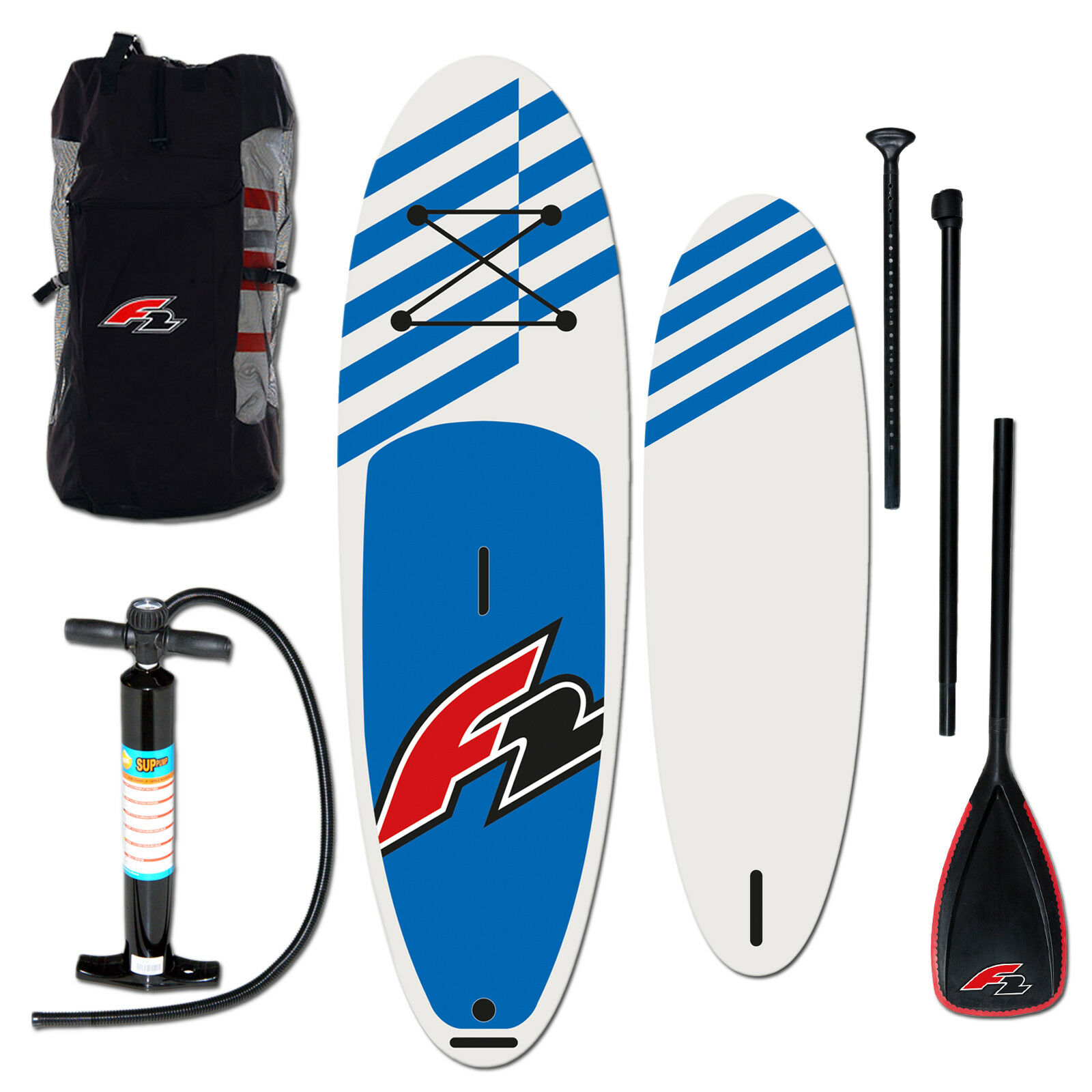 F2 Stand up Paddle Board Sup 10,0   bluee Complete Set Inflatable Inflatable