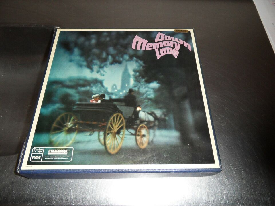 LP, Rock og Reggae mv., Memory Lane 10 stk. LP