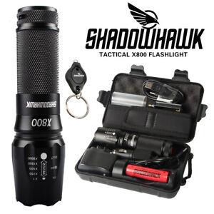 véritable 20000lm Shadowhawk X800 lampe de poche tactique